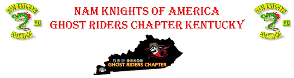NAM KNIGHTS OF AMERICA GHOST RIDERS CHAPTER KENTUCKY